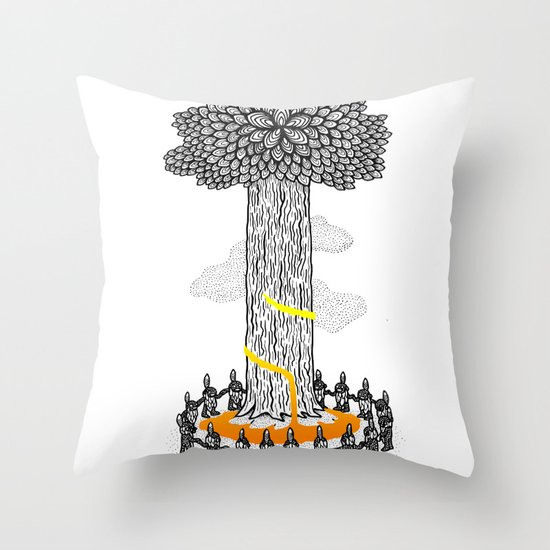Tree Friends, pt.1 Throw Pillow