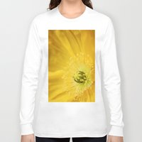 sunshine Long Sleeve T-shirts featuring Sunshine by Kathy Dewar