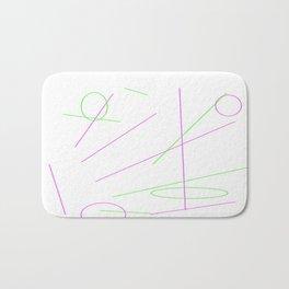 Abstract Bath Mat