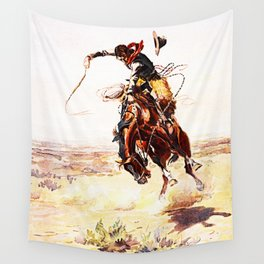 A Bad Hoss Wall Tapestry