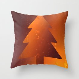 Christmas Time is Beer Throw Pillow