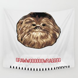 Chewbacca SW Poster Wall Tapestry