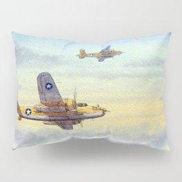 B-25 Mitchell Aircraft Pillow Sham
