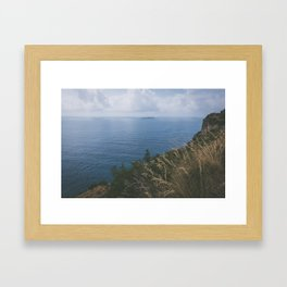 Amalfi coast, Italy Framed Art Print