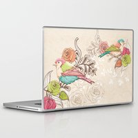 country Laptop & iPad Skins featuring Country Garden by Amanda Dilworth
