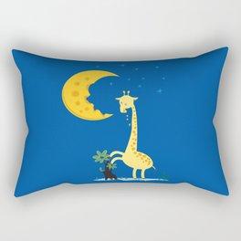 The Delicious Moon Cheese Rectangular Pillow