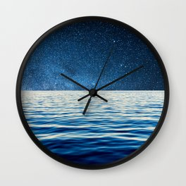 Sailing into space Wall Clock