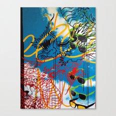 DRAGON/ SKY Canvas Print