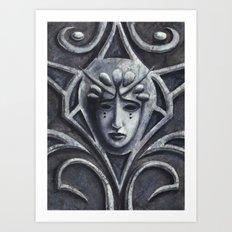 Gothica Art Print