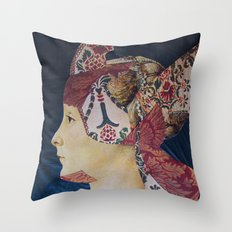 IL ROMANTICO SOMMERSO #3 Throw Pillow