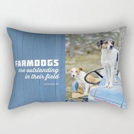 Outstanding Farmdogs Rectangular Pillow