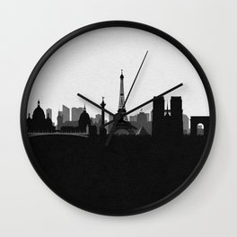 City Skylines: Paris Wall Clock