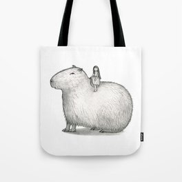 I LOVE CAPYBARA Tote Bag