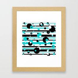 Floating Balls Framed Art Print