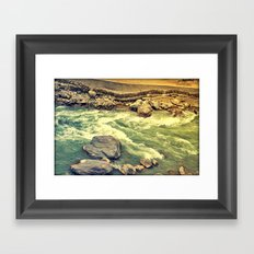 Another day gone! Framed Art Print