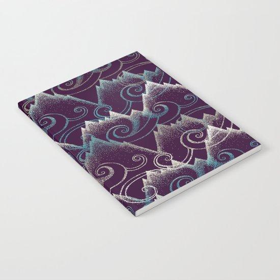 Purple Tide Notebook