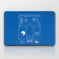 baymax iPad Cases featuring  Vitruvain Baymax by FuManChou