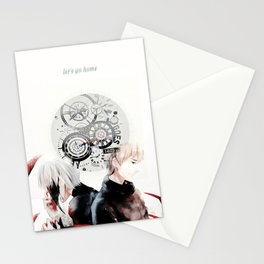 let's go home Stationery Cards