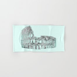 Roman Colosseum Hand & Bath Towel