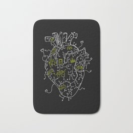 Gaming Control Tools | Heart Bath Mat