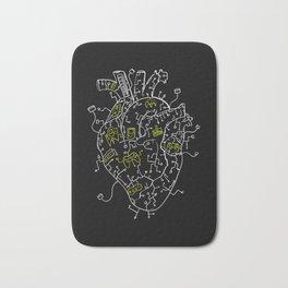 Gaming Control Tools | Heart Bath Mat