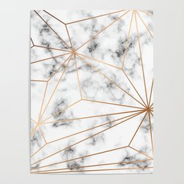 Marble & Gold 046 Poster