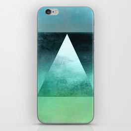 Triangle Composition X iPhone Skin