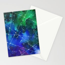 Deep in space Stationery Cards