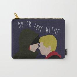 Du Er Ikke Alene Carry-All Pouch
