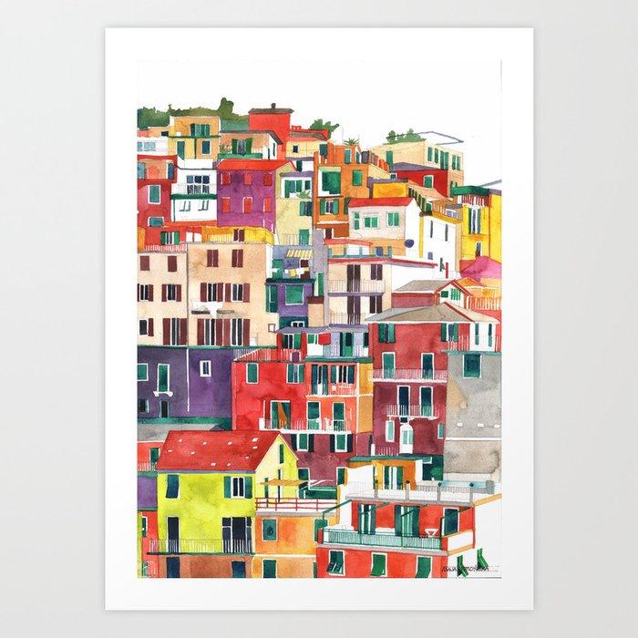 Cinque Terre Art Print