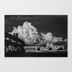 Clouds & Suspects I Canvas Print
