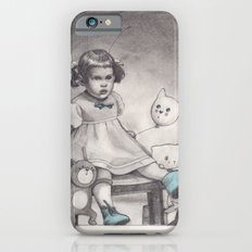 Her blue shoes iPhone 6s Slim Case