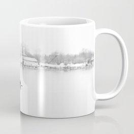 ice cold fishing Coffee Mug
