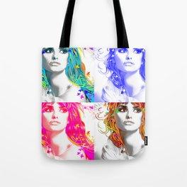 Pop-Art Fantasy Tote Bag