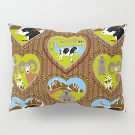 Welcome to the Mountains! Pillow Sham