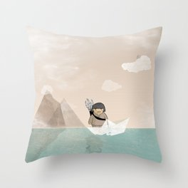 TSHAKAPESH Throw Pillow