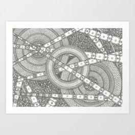 Trees & Forest Floor Art Print