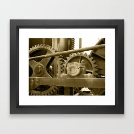 Heavy machinery Framed Art Print