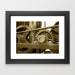 Heavy machinery Framed Art Print