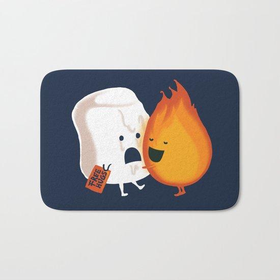 Friendly Fire Bath Mat