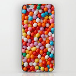 Multicolored candy drops iPhone Skin