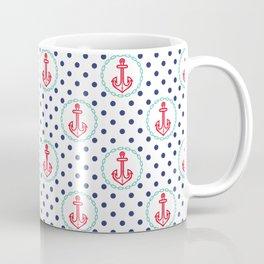 Nautical Anchors Coffee Mug