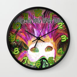 Let the Good Times Roll ( Laissez les bons temps rouler) Wall Clock