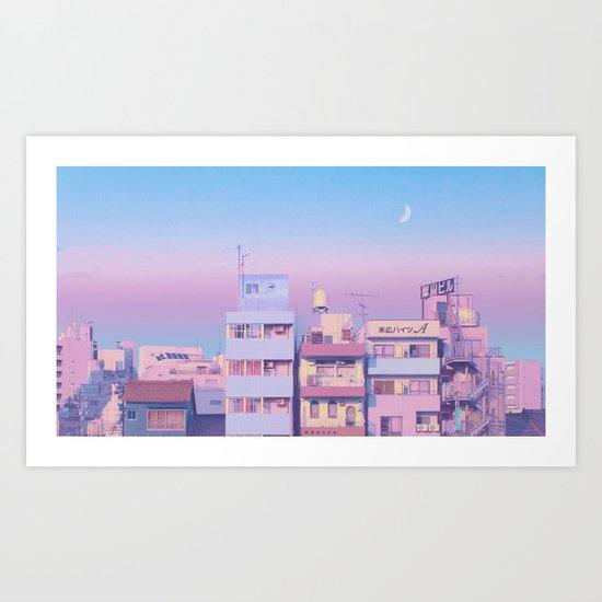 Morning Moon by elorap