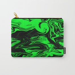 Dark Pastel Greens  Carry-All Pouch