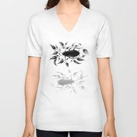 bugs V-neck T-shirts featuring bugs by David Cristobal