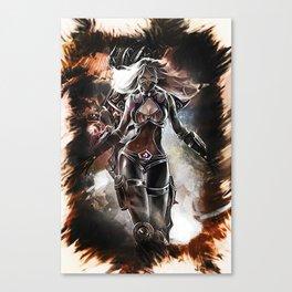 League of Legends NIGHTBLADE IRELIA Canvas Print