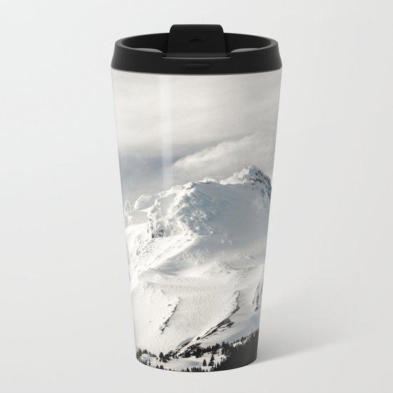 Marvelous Mount Hood Metal Travel Mug