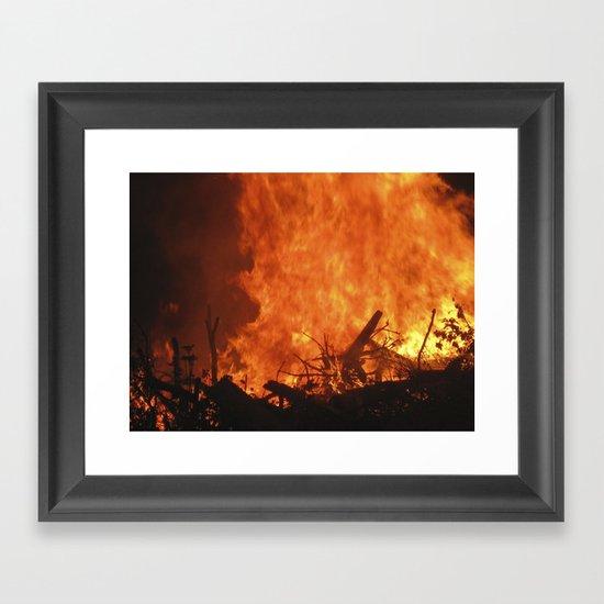 Ignite. Framed Art Print