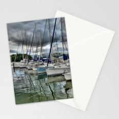 Yachts on Lake Windermere Stationery Cards